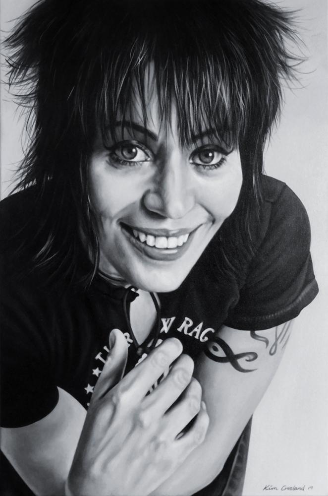 Joan Jett by chaosart